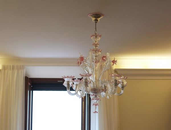 Chandelier installed in the convent Mater Ecclesiae