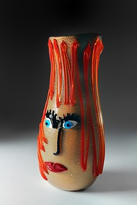 Picasso style vase