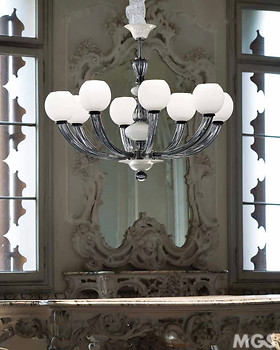 Space Age Chandelier