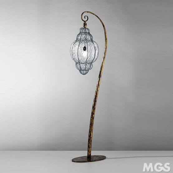 Floor Lamp With Venetian Lantern